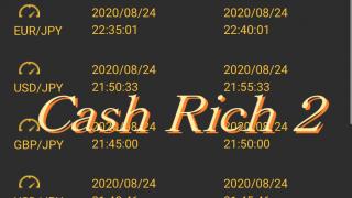 最強 バイナリーオプション 自動売買 ツール Cash Rich 2 完全自動売買 キャッシュリッチ 実績 10/05-10/09日版 今週の週利は?