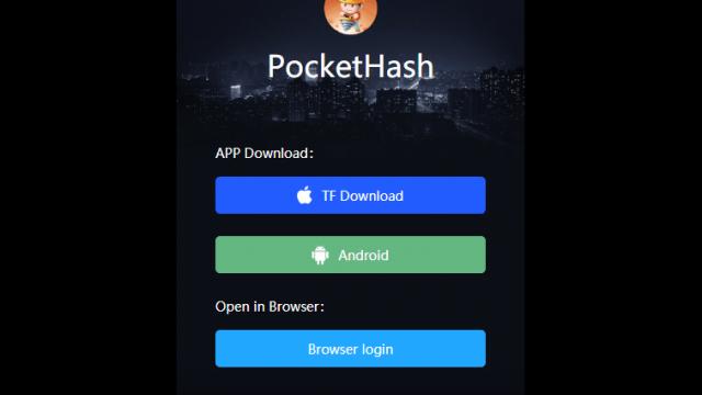 Pocket Hash ポケットハッシュ