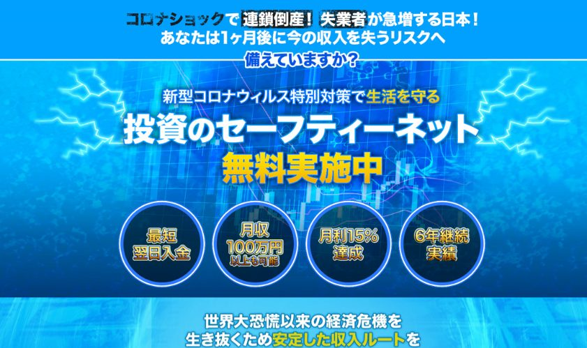 投資のセーフティネット 月利15%で稼ぐFXトレーダー育成WEB講座(伊藤萌)