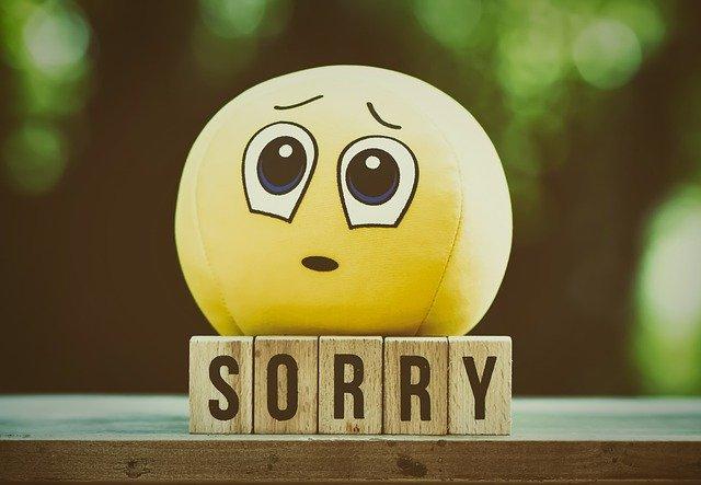 大変申し訳ございません